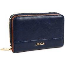 Doca Dámská peněženka 64500 tmavě modrá