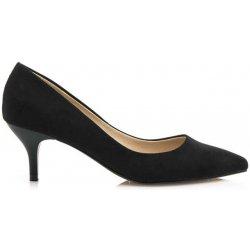 Dámská obuv Černé lodičky na nízkém podpatku Maria Mare 09c120e5d8