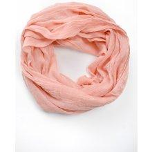 Lehký hladký šátek v pastelových barvách Broskvová meruňková d84fec34b7