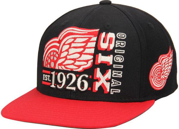 33e662368df CCM Kšiltovka Detroit Red Wings Original 6 Snapback od 419 Kč - Heureka.cz