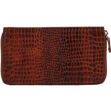 Estelle Dámská kožená peněženka SL 3 hnědá