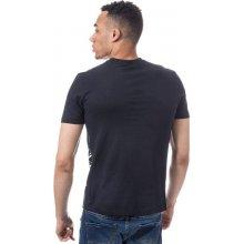 Armani Mens Eagle Crest Logo T Shirt Navy