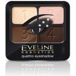 Eveline Quattro oční stíny 1 variace modré 5,2 g