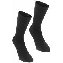 4baca256288 Calvin Klein Klein Carter 2 Pack Socks Black