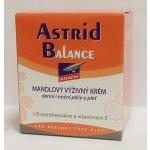 Astrid Balance Intensive mandlový výživný krém suchá a velmi suchá pleť 50 ml