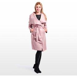 9b2dc4f9bfe Calzanatta Dámský flaušový kabát Pudrově růžová 1011 alternativy ...