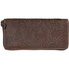 Toro Dámská kožená peněženka na zip