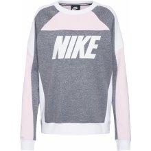 Nike Sportswear W NSW Crew FLC CB šedá 69bd49b202