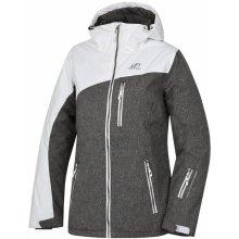 Hannah dámská lyžařská bunda bílám šedá