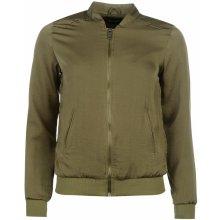 Golddigga Lightweight Bomber Jacket Ladies Khaki