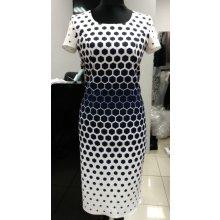 95ef0ddf4c6b Color collection zeštíhlující šaty s krátkým rukávem černobílá
