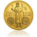 Česká mincovna Zlatý 100dukát Vratislav II. stand 348,5 g