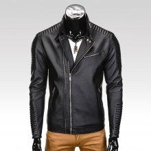 Ombre Clothing kabát Victor světle šedý. od 1 699 Kč · Pánský koženkový  křivák Zuko černý c390a6f335