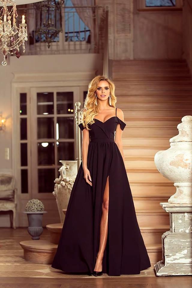 Filtrování nabídek Dlouhé šaty Elizabeth černá - Heureka.cz d7a6707531