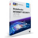 Bitdefender Internet Security 1 lic. 1 rok (VL11031001-EN)
