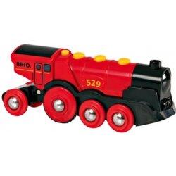 Silná elektrická lokomotiva se světly Brio 33592
