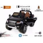 Beneo elektrické autíčko Ford Ranger Wildtrak Luxury lakované EVA kola čalouněný sedadlo 2,4 GHz DO