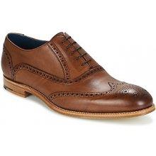 Barker Šněrovací společenská obuv VALIANT Hnědá