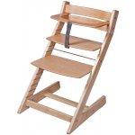 WOODPARTNER Dětská rostoucí židle UNIZE jednobarevná 001-natur lak