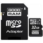 Goodram microSDHC 32GB UHS-I + adaptér M1AA-0320R11