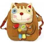 EcoSnoopers batoh Kočka hnědá