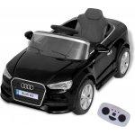 vidaXL elektrické dětské auto s dálkovým ovládáním Audi A3 černé