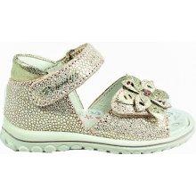 ce87739ea7c Primigi Dívčí sandály s kytičkou - zlaté