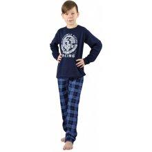 EVONA a.s. chlapecké dlouhé pyžamo OLDSMOBILE modré P OLDSMOBILE 906 170-176