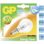 GP Lighting Halogen Mini Globe 28W 230V E-14 Teplá bílá 350 lm