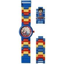Lego Watch & Clock DC Super Heroes Superman - barevné