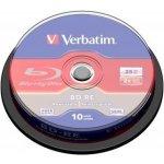 Verbatim BD-RE 25GB 2x, spindle 10ks (43694)