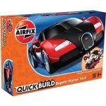 AIRFIX Quick Build auto J6020 Bugatti Veyron červená