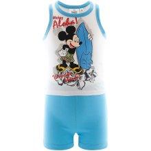 tílko a šortky Mickey Mouse bílo modrá