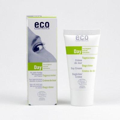Eco Cosmetics denní hydratační krém papája granátové jablko 50 ml