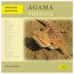 Agama vousatá - Abeceda teraristy - Klátil Lubomír