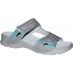 d2f4b71803b6 Dámská obuv Medistyle zdravotní pantofle NINA LN-T16 1 šedá