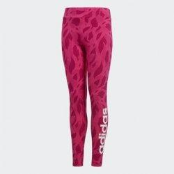 Adidas Dětské Legíny Linear Printed Růžová f90527e659