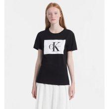 fc782c37d8a6 Calvin Klein dámské tričko s potiskem černé