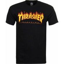 Thrasher triko Flame Logo Black