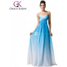 a3abd2659b1 Grace Karin společenské šaty dlouhé CL6173-2 modrá