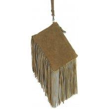 kabelka z brúsenej kože 65 Camel