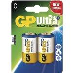 Baterie GP Ultra Plus Alkaline C 2ks