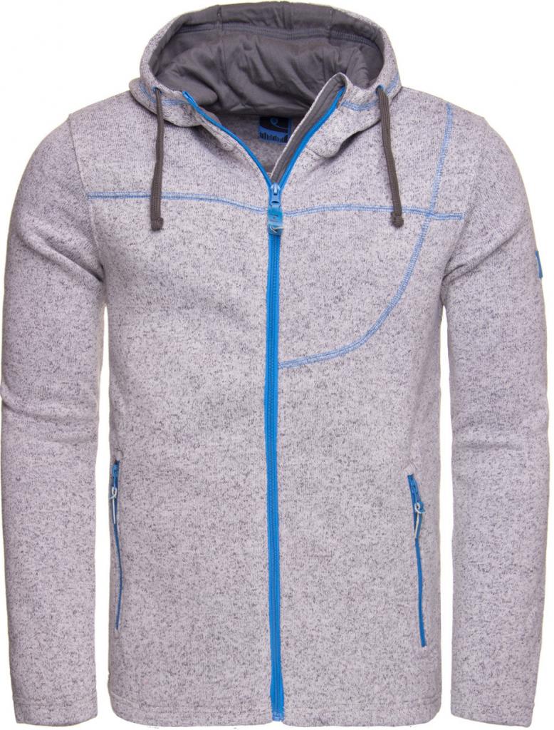 Pánský pulovr Pánský sportovní svetr s kapucí LOAP GOSIP OLM1725 ... a5ed891dd5