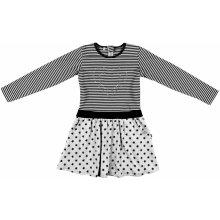 MMDadak Dívčí šaty My Love šedé