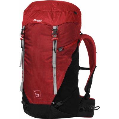 Lehký outdoorový batoh Bergans Helium V5 40L Červená 40L
