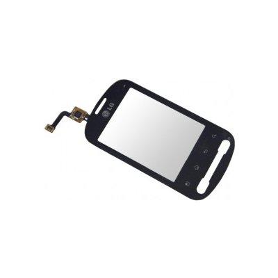 LG P350 Optimus ME dotyková deska + sklíčko black