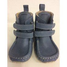 11090e5d42 ZeaZoo Kids YETI Blue waterproof leather -sheepskin