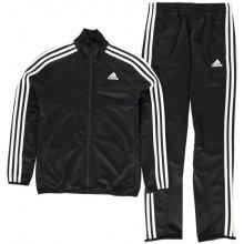 Adidas Tiro Poly Suit Junior Boys Black White