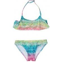 Losan Španělsko dívčí dvoudílné plavky Losan sv. růžovo tyrkysové 1d967a3618