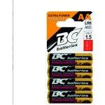 Baterie BC Alkaline AA 4ks